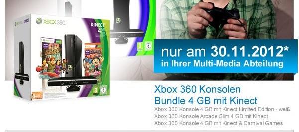 Müller Angebot auf Xbox 360 Konsolen